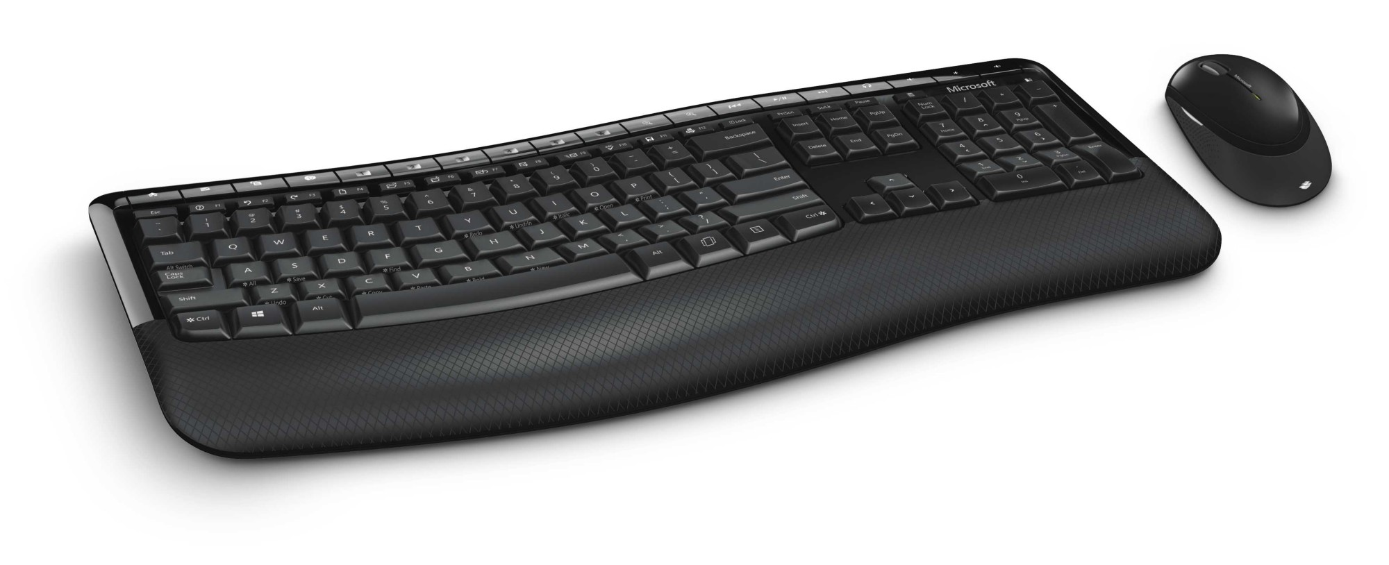 MICROSOFT PP4-00019 COMFORT DESKTOP 5050 RF WIRELESS QWERTY BLACK